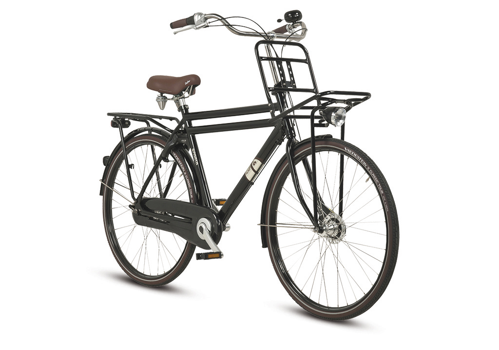 Sparta Pick-Up Plus Herenfiets 49cm 7V - Zwart