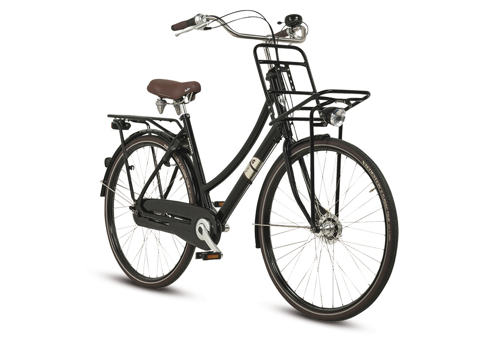 Sparta Pick-Up Plus Damesfiets 53cm 7V - Zwart