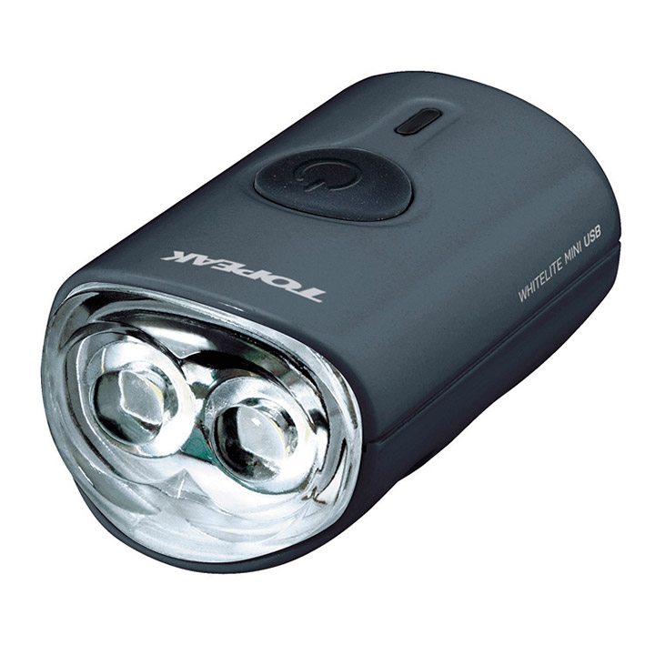 Topeak Koplamp WhiteLite Mini LED USB Zwart