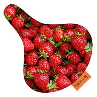 BikeCap Zadeldekje Strawberries