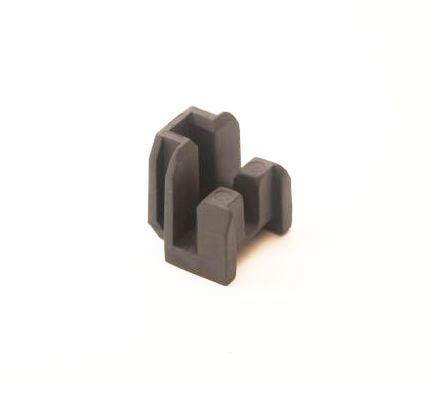 Bosch Geleide Rail Adaptor 4mm 2013 - Zwart