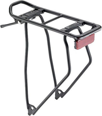 Racktime Snap-it Bagagedrager I-Valo 28 Inch Zwart