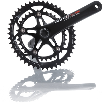 Miche Crankstel Cross Evo Max 36/44T 10V 175mm Zwart