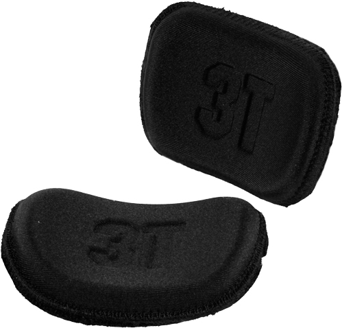 3T Compact Complete Arm Pad Set Zwart