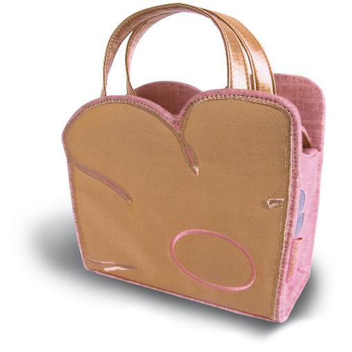 Basil Shopper Kids XS Rose/Goud