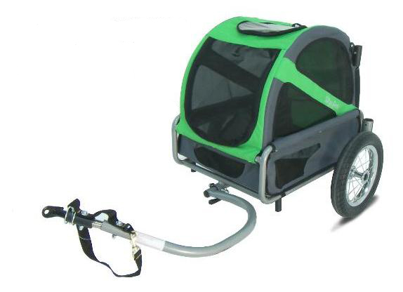 Doggyride Hondenkar Mini Trailer Groen