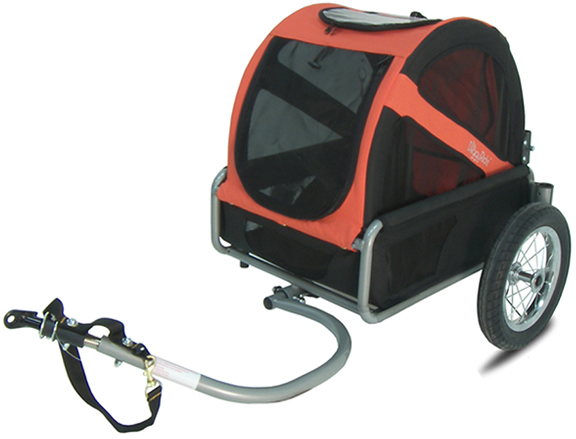 Doggyride Hondenkar Mini Trailer Rood