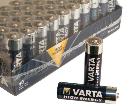 Varta Batterijen LR03 AA-Cell High Energy (40)