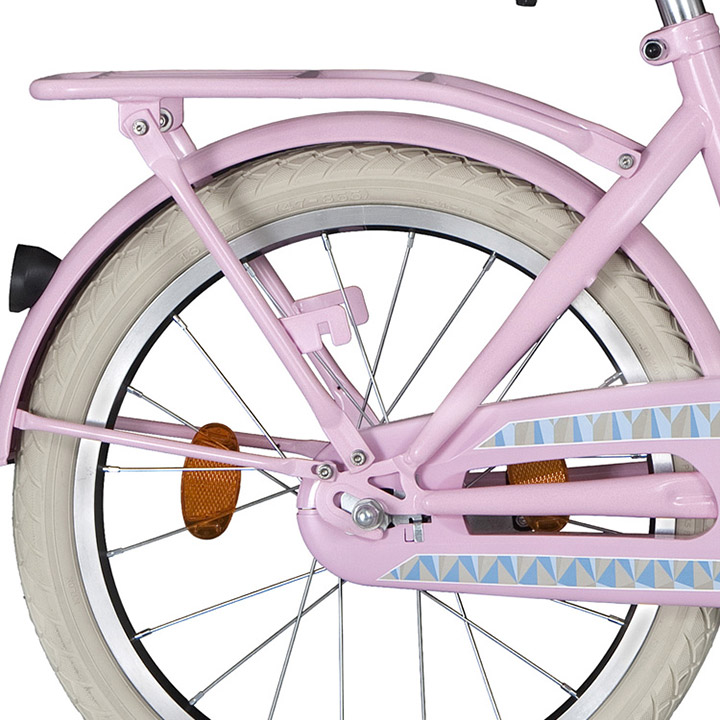 Alpina Bagagedrager Clubb 18 Inch Roze