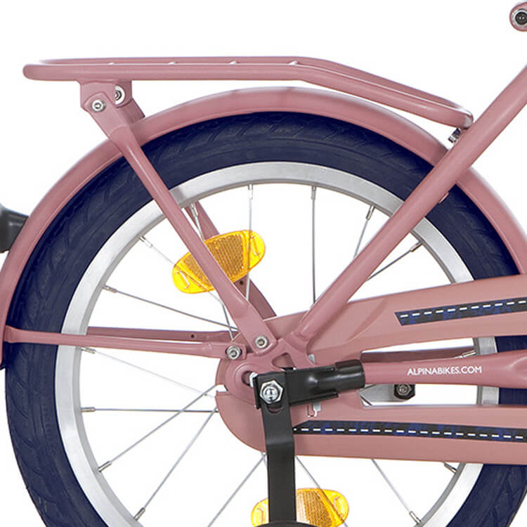 Alpina Bagagedrager 18 Inch Cargo - Mat Roze