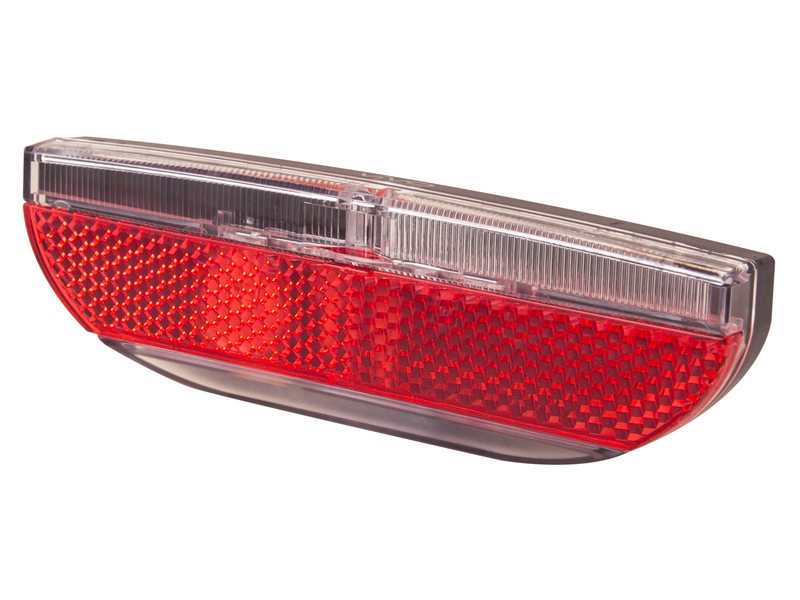 Spanninga Vivo XDS Achterlicht LED Dynamo 80mm - Rood