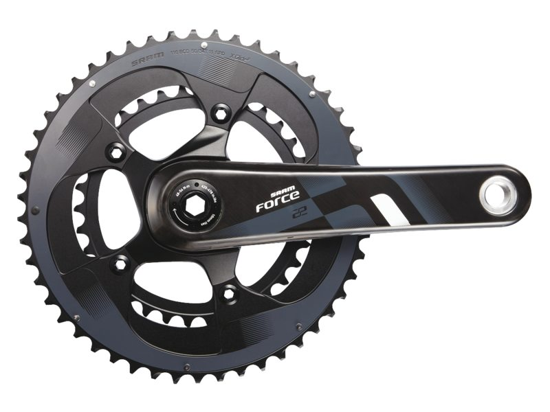 Sram Crankstel Force 22 BB30 50-34T 172,5mm 11 Speed