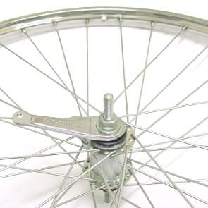 Achterwiel 28x 1 3/8 staal shimano