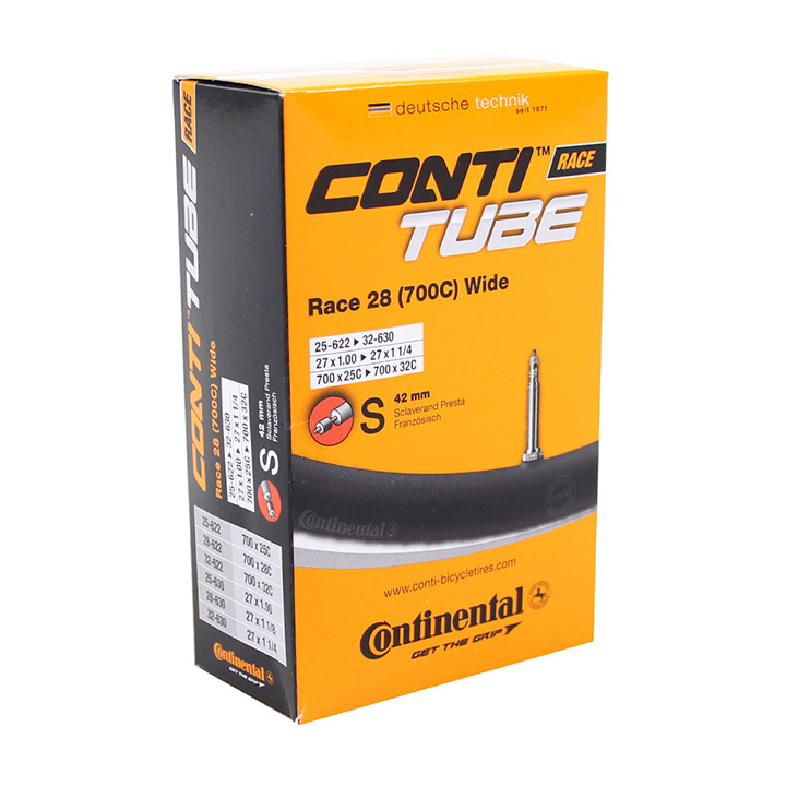 Continental Binnenband Race 700 x 25-32C Wide 42mm FV