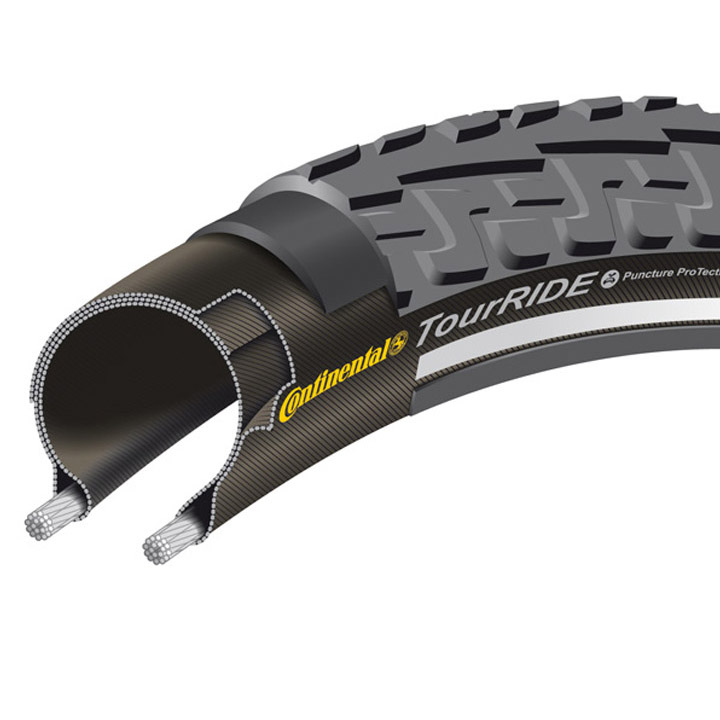 Continental Ride Tour Buitenband 28x1 5/8x3/8\