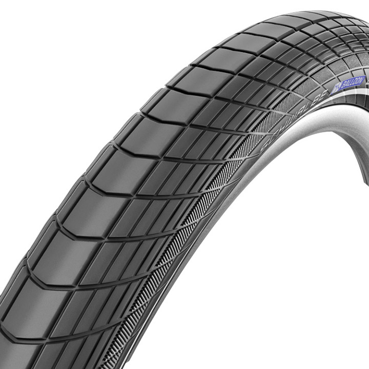 Schwalbe Buitenband Big Apple 24 x 2.00 R-Guard Reflex Zwart