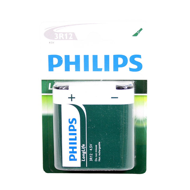 Philips Longlife batterijen 3R12P 4,5V (1)