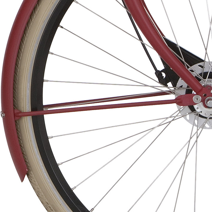 Cortina Spatbordstang Voor 28 Inch tbv U1 - Rood