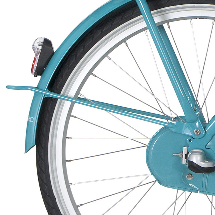 Cortina Achterspatbord Stang 26 Inch U4 Mini - Turquoise