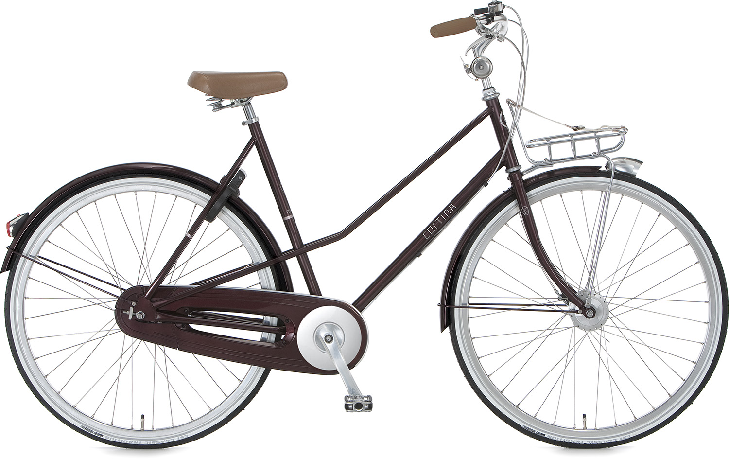Cortina Olev Damesfiets 50cm 5V - Donker Paars