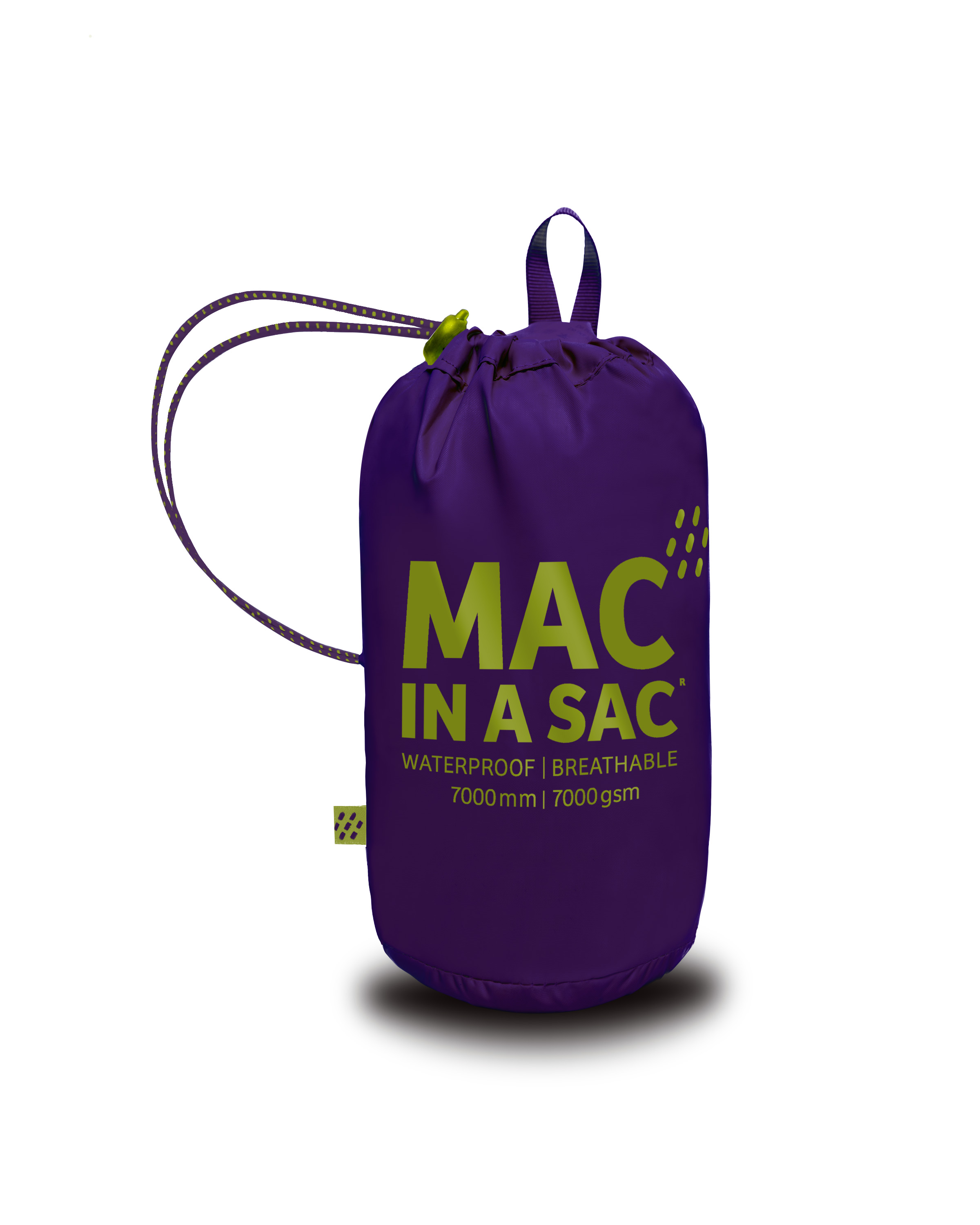Mac in a Sac Regenjas Grape - Maat XXL
