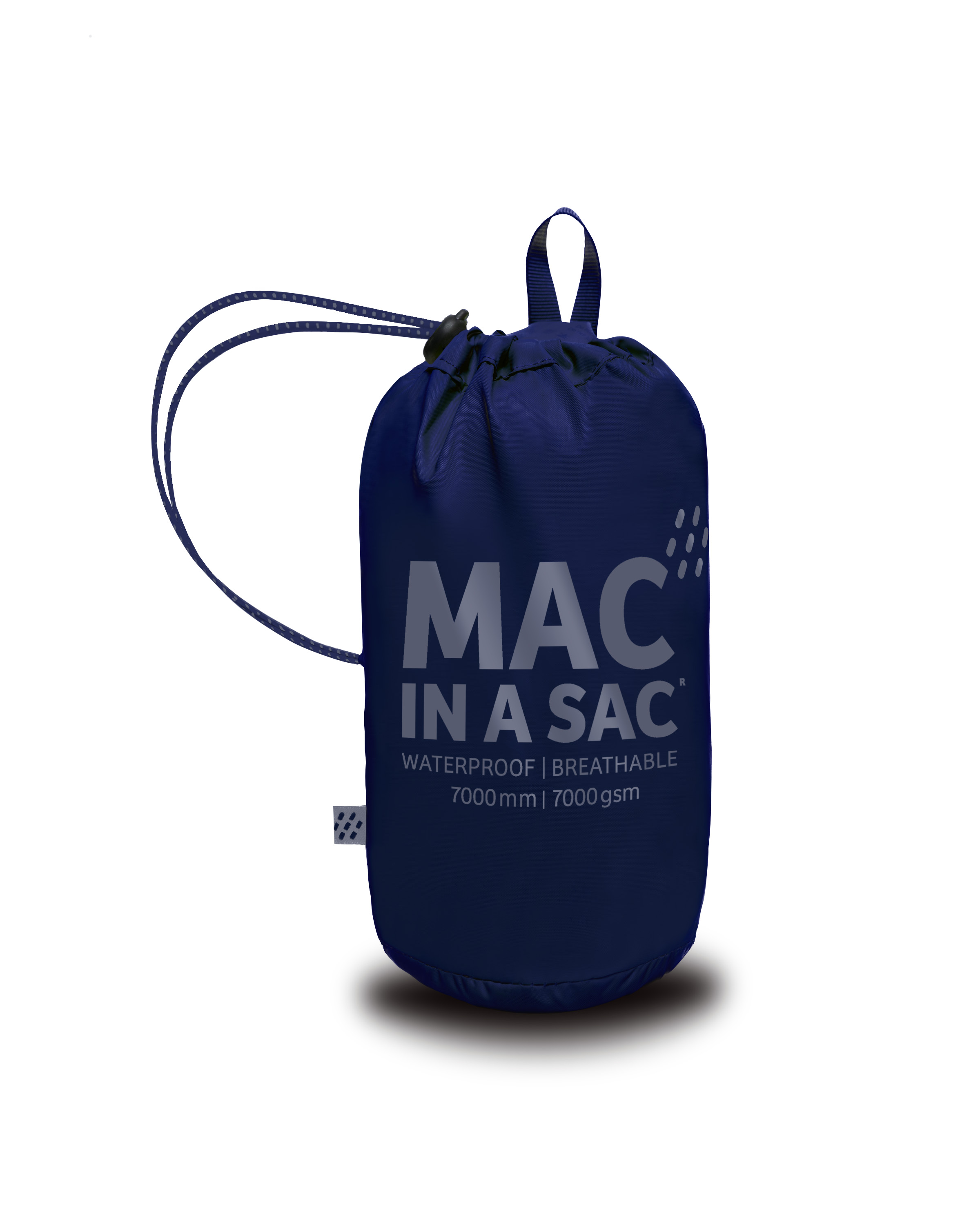 Mac in a Sac Regenjas Navy - Maat S