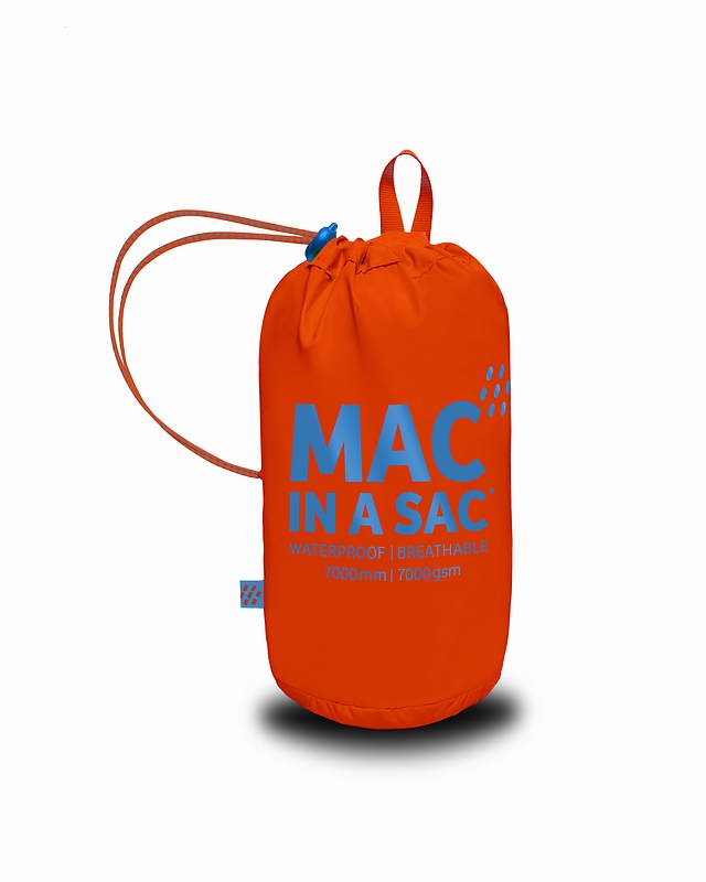 Mac in a Sac Regenjas Neon Orange - Maat M