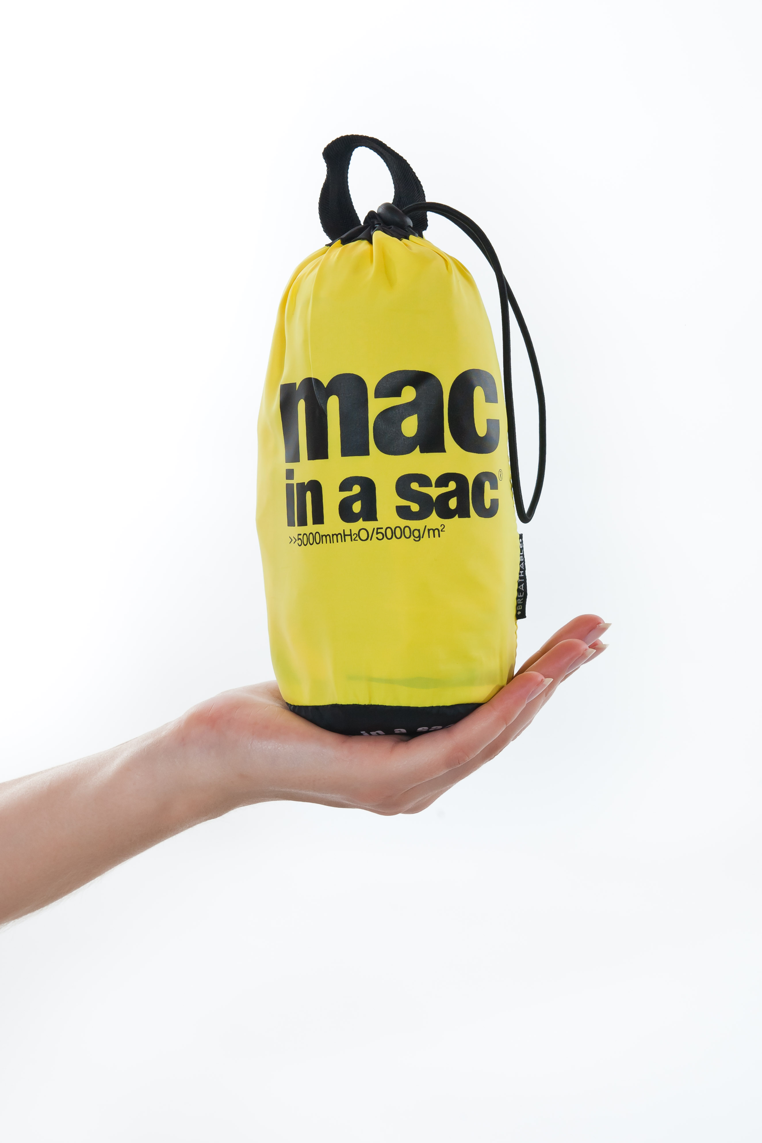 Mac in a Sac Regenjas Junior - Canary Yellow - 2-4 Jaar