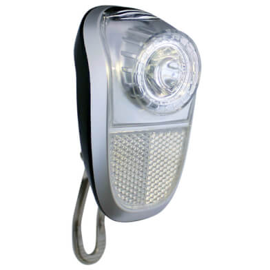 Union koplamp Mobile led Naafdynamo Zilver