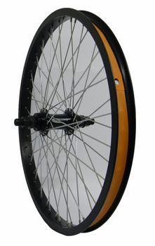 VWP Achterwiel 20 Inch Freestyle 14mm As 48 Gaats Zwart