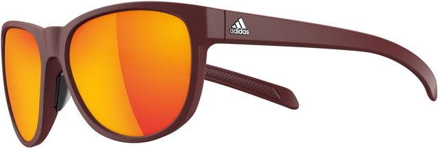 Adidas Sportbril Wildcharge Red Mirror - Mat Zwart