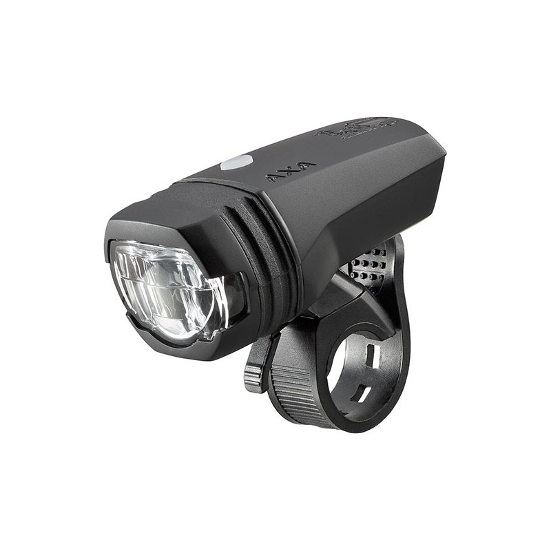 Axa Greenline Koplamp 1 Led 50Lux Usb - Zwart