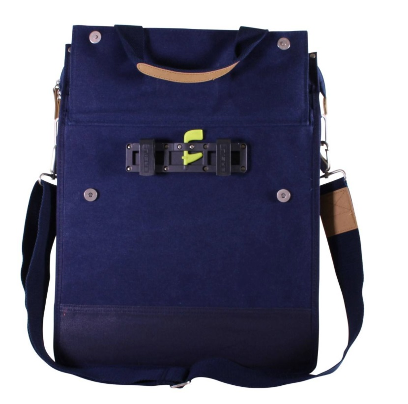 Basil Fietstas Urban Fold Cross 25L - Denim Blauw
