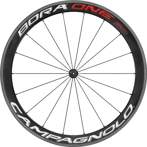 Campagnolo Bora One 50 Voorwiel Full Carbon - Bright