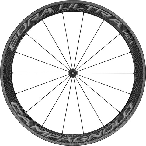 Campagnolo Bora Ultra 50 Voorwiel Full Carbon -Tubular