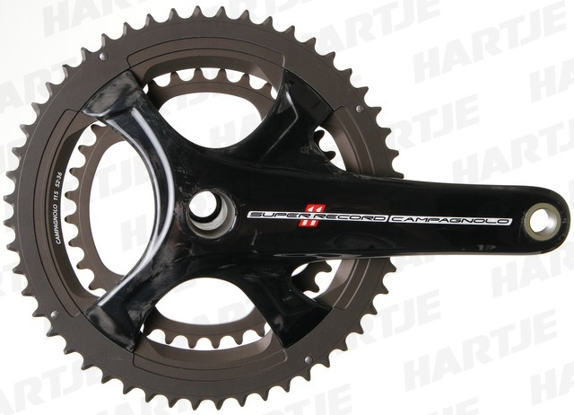 Campagnolo Crankstel Super Record / EPS 11V  36/52T 172.5mm