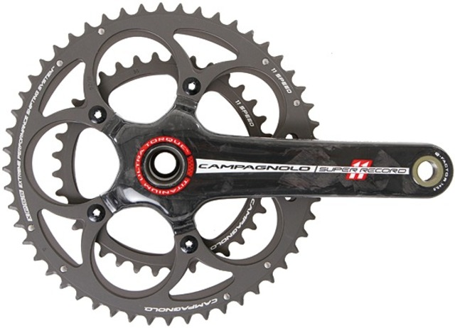 Campagnolo Crankstel Super Record 11V EPS 36/52T 175mm