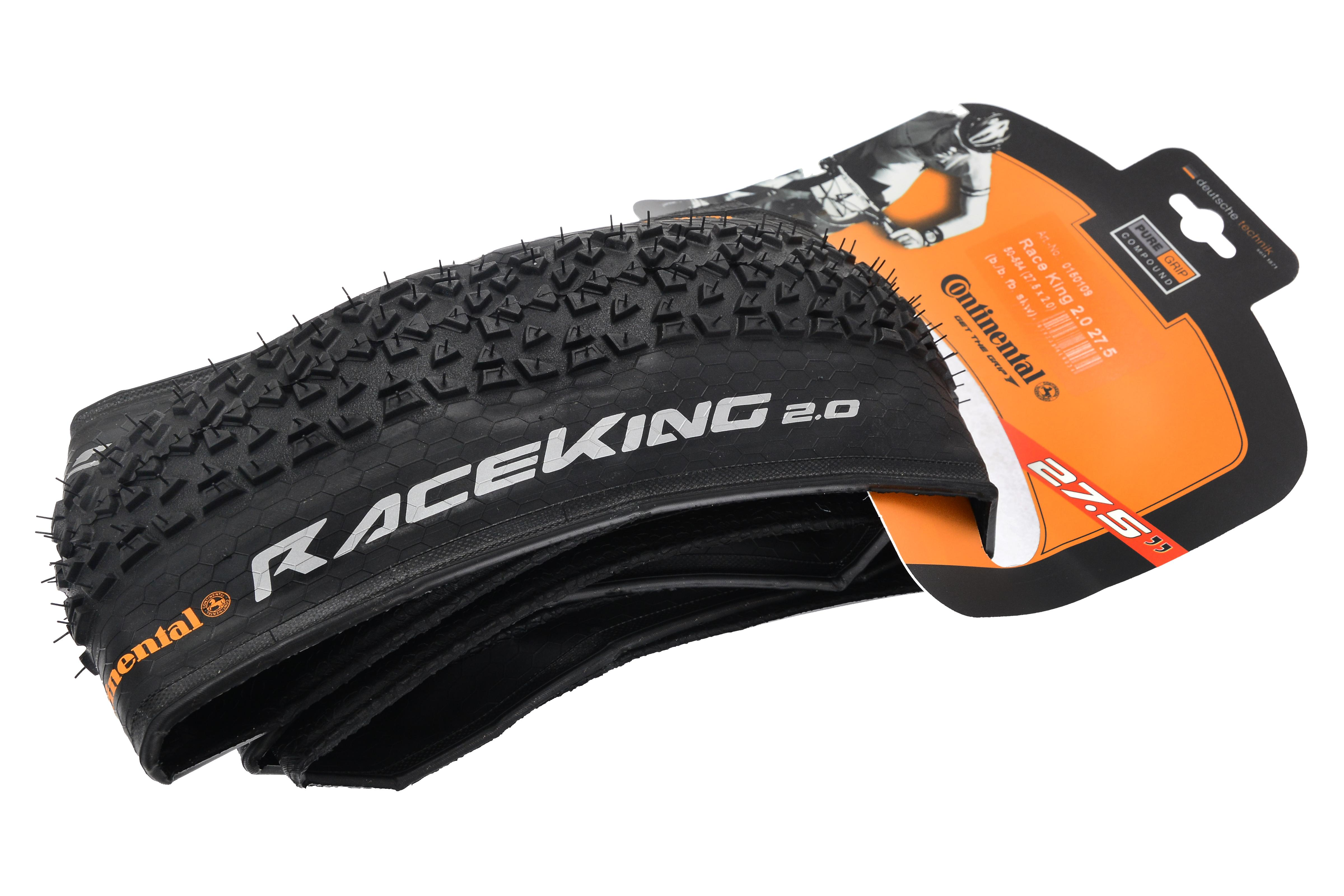 Continental Race King Performance Band 27.5 x 2.0 Vouwb - Zw