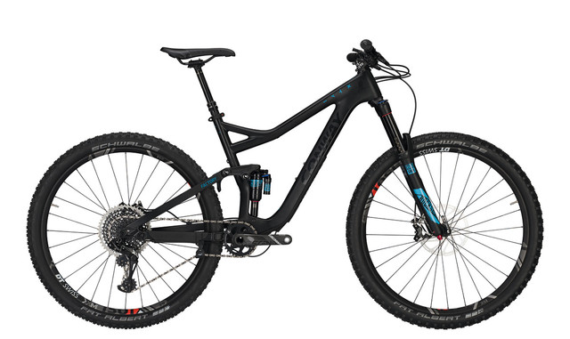Conway WME Factory Heren 29er 41cm 12V - Carbon/Blauw