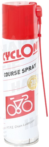 Cyclon Course Lube Kettingvet PTFE Spuitbus 250ml