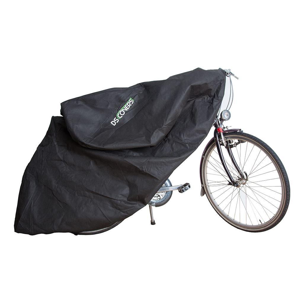DS Covers Fietshoes Fly Indoor 200x65x120cm - Zwart