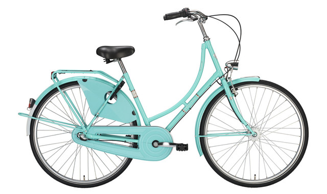 Excelsior Classic ND Omafiets 56cm 7V - Licht Groen