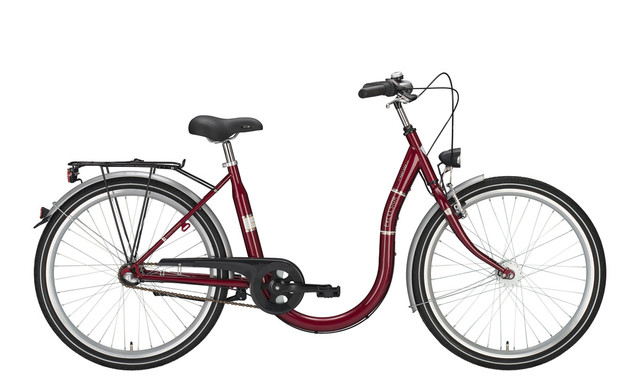 Excelsior Easy Step Damesfiets 26 Inch 45cm 3V Arabicred