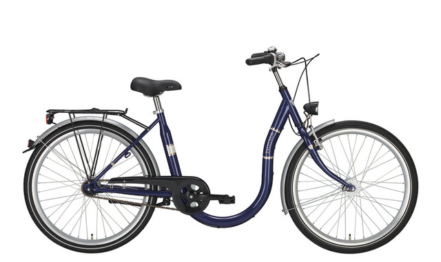 Excelsior Easy Step Damesfiets 26 Inch 45cm 3V True Blue