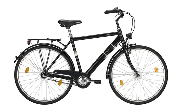 Excelsior Road Cruiser Alu ND Heren 28 Inch 55cm 7V - Zwart