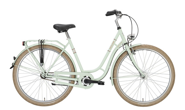 Excelsior Swan-Retro ND Damesfiets 48cm 3V - Icemint
