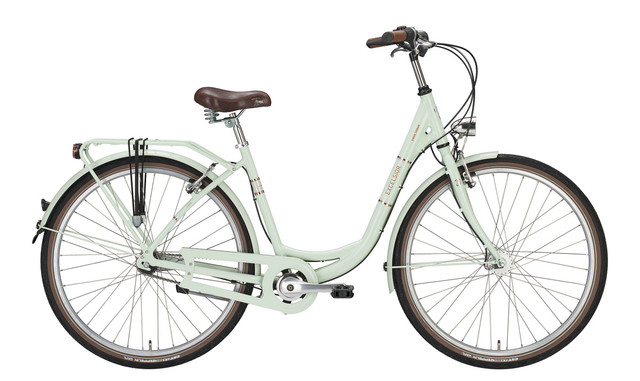 Excelsior Swan-Urban Damesfiets 28inch 45cm 3V Ice Mint