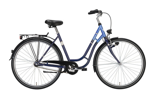 Excelsior Touring Damesfiets 28 Inch 53cm 3V Blauw