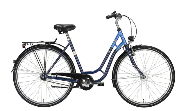Excelsior Touring ND Damesfiets 28inch 45cm 3V Blauw
