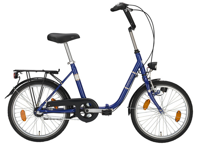 Excelsior Vouwfiets 24 Inch 48cm 3V Blauw